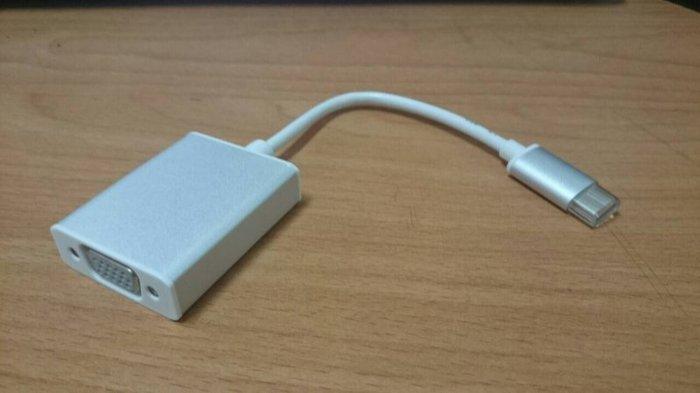 可用於 宏碁 Acer Switch Alpha 12 的 USB type C to VGA 轉接線