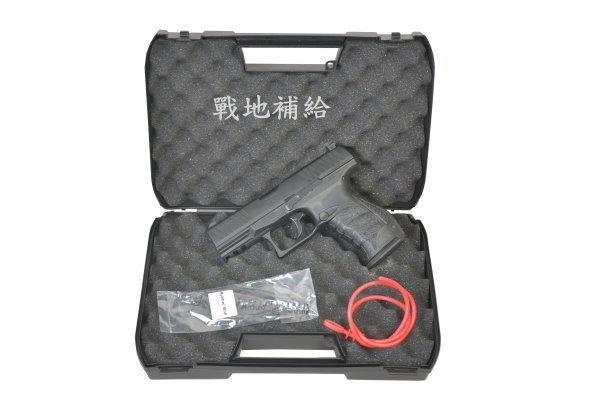 """【戰地補給】德國Walther授權PPQ-M2鋼製膛線槍管11mm""""特仕版""""警方訓練用鎮暴槍(滑套可動可後定)"""