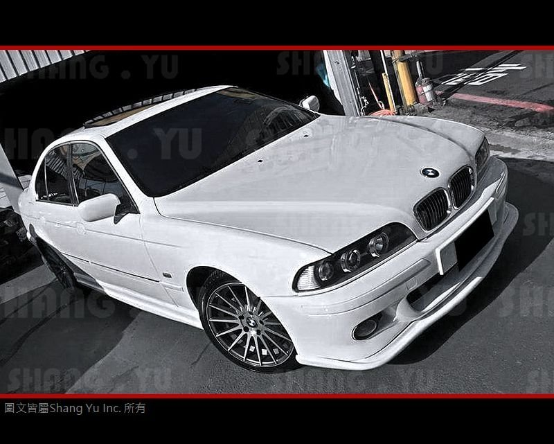 BMW E39 M5 前保桿 前保 前包 前大包 專用 定風翼 套件