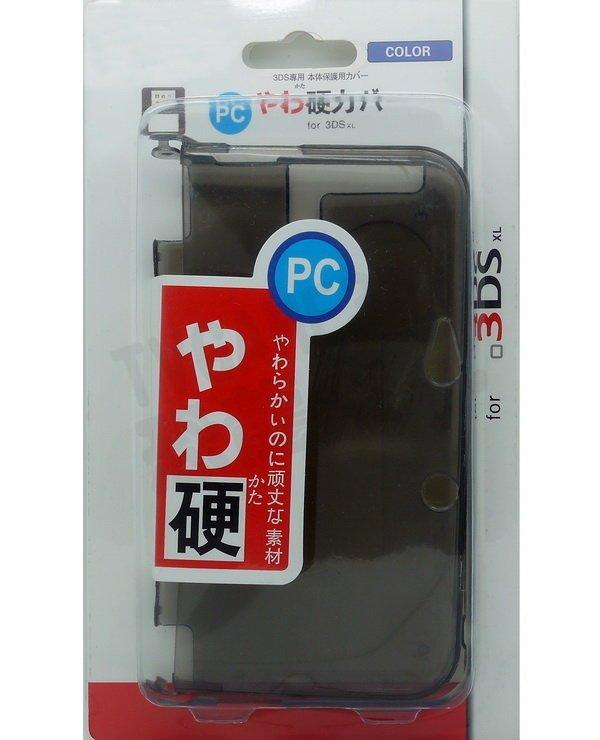 任天堂 Nintendo 3DSLL 3DSXL TPU保護殼(黑色)【台中恐龍電玩】