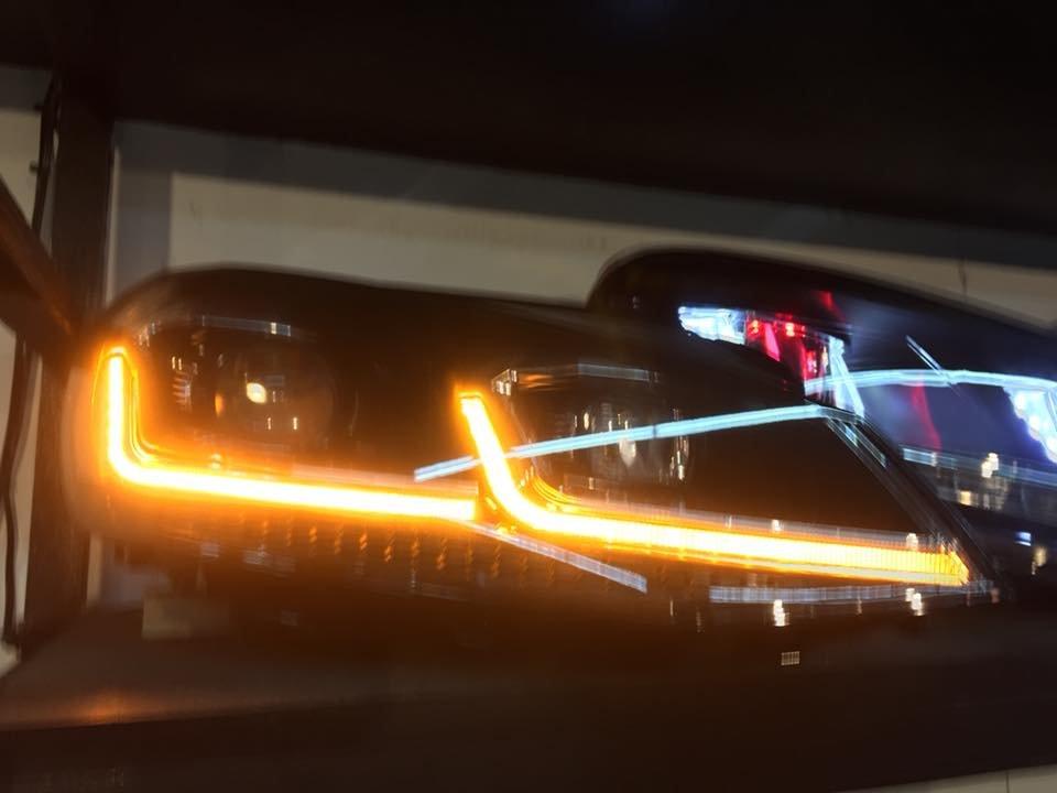 DJD18070305 Golf 7.5代 雙U 大燈總成 HE-VW-017 流水款 VW Volkswagen