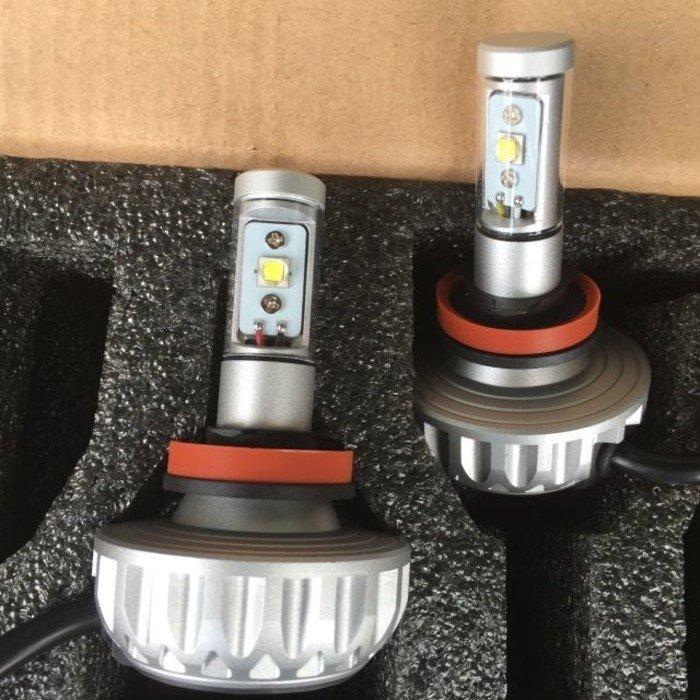 (柚子車舖) 三菱 OUTLANDER LED 大燈 LED 霧燈 燈泡 H11 H4 H7 9005 9006 b
