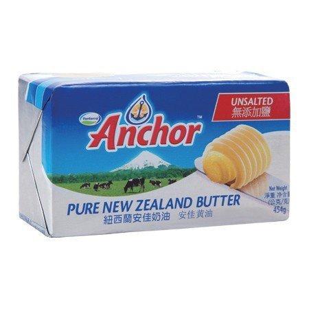 【烘焙百貨】紐西蘭安佳無鹽奶油/牛油/黃油454g