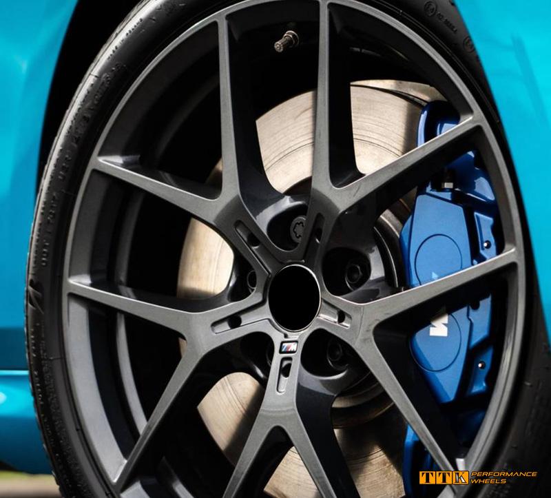 【小茵輪胎】B&W新款 類BMW M2 M-POWER原廠鋁圈式樣 18吋 5孔112/120 前後配 鑄造/旋壓/鍛造