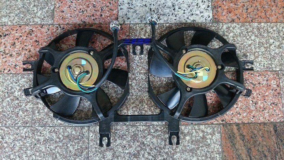 三菱 SPACE GEAR 全新 風扇總成 另有 水箱 冷排 升降機 六角鎖 來令片 噴水桶 發電機 啟動馬達 鼓風機