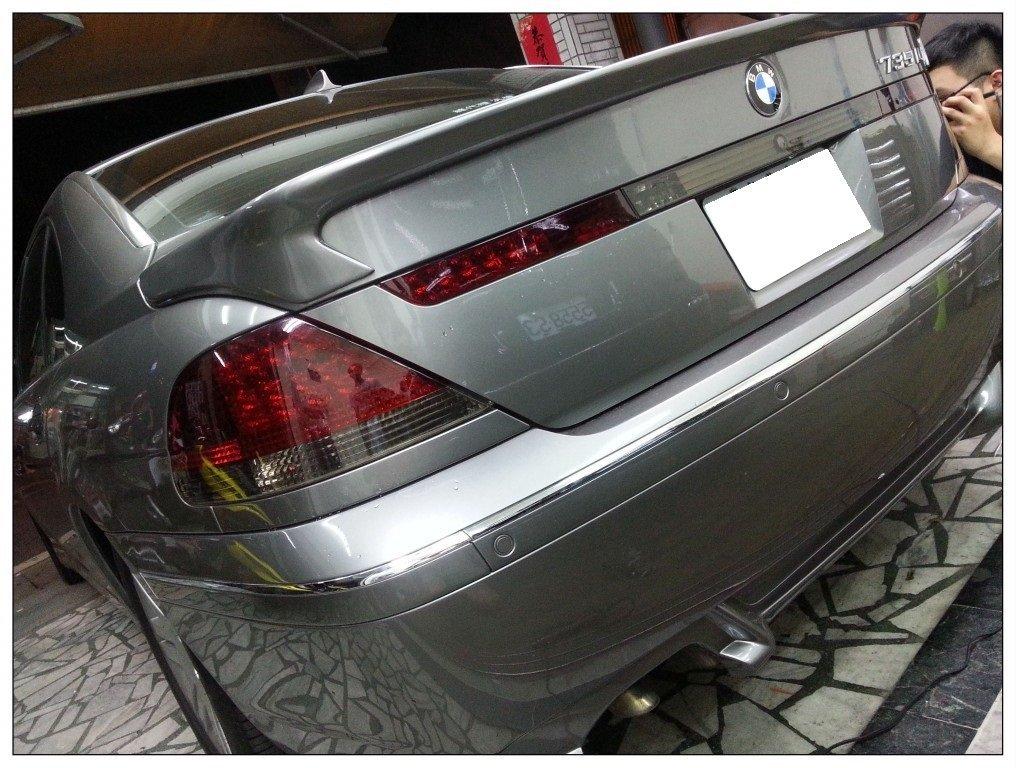 BMW E65 車燈貼膜 大燈貼膜 熏黑車燈 熏黑大燈 E66 F01 F02 G11 E63 F12 F80 F82