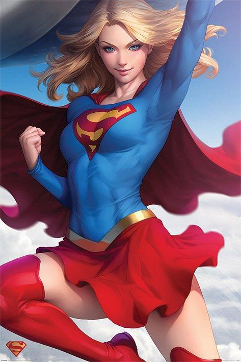 海報 英國 海報 PP34367( 英國 海報 DC漫畫 女超人 Superman )