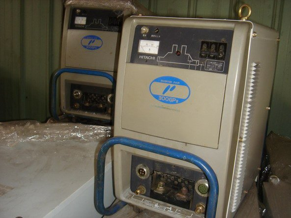 {中古焊接設備維修買賣出租}日立變頻交直流氬焊機~CO2機~電焊機~氬焊機~切割機~焊接機