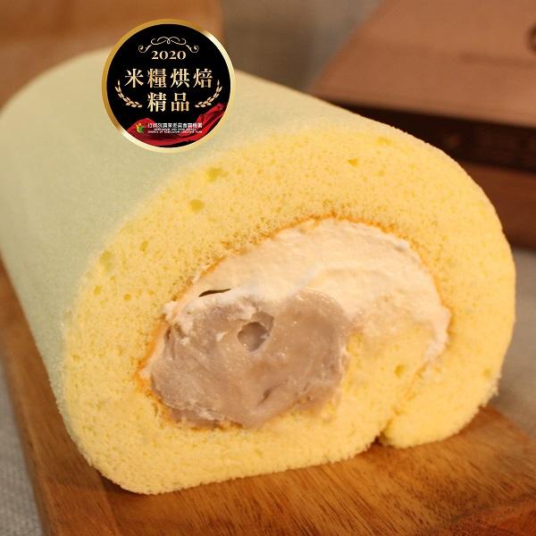 烘焙精品 強力登場💗無添加☆無麩質💗 恬米屋 - 芋頭生乳米蛋糕捲