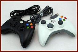 促銷價!全新品綠盒包裝X360手把有線 把手XBOX360控制器PC可用 遊戲 搖杆 遊戲手柄 原廠芯片