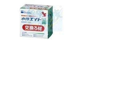 {台中水族} 水作Suisaku 內置空氣過濾器 替換濾材 (M款) 水妖精  35L 水量