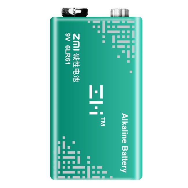※相機工匠¥免運商店※ (現貨) 9V/鹼性電池| ZMI紫米 鹼性電池(6LR61)*