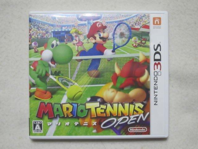 【KENTIM玩具城】中古二手九成新3DS 瑪利歐網球 公開賽 Mario Tennis Open 日版遊戲