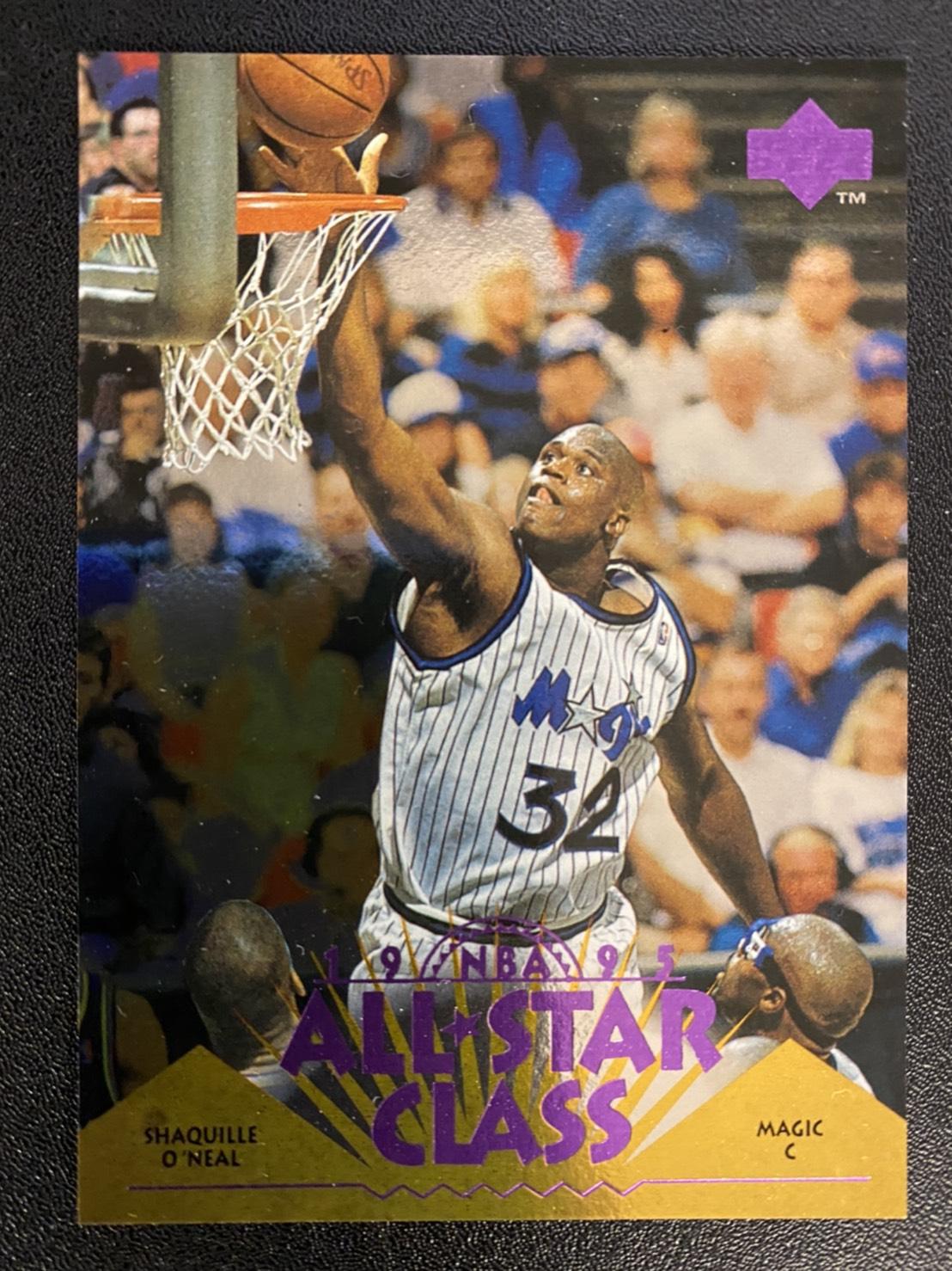 Shaquille ONeal 1995-96 Upper Deck All Star Class