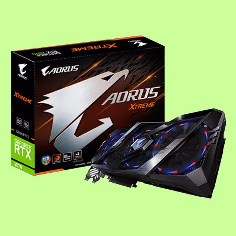 5Cgo【聯強】技嘉 AORUS GeForce RTX 2070 XTREME 8G 顯示卡 3年保 含稅
