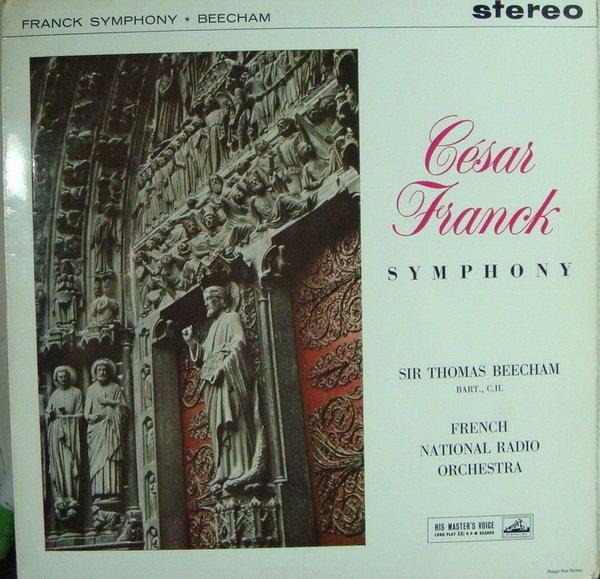 ***黑膠 Beecham 畢勤 - Franck 法朗克 : Symphony in D Minor  (英版 HMV白金狗首版)