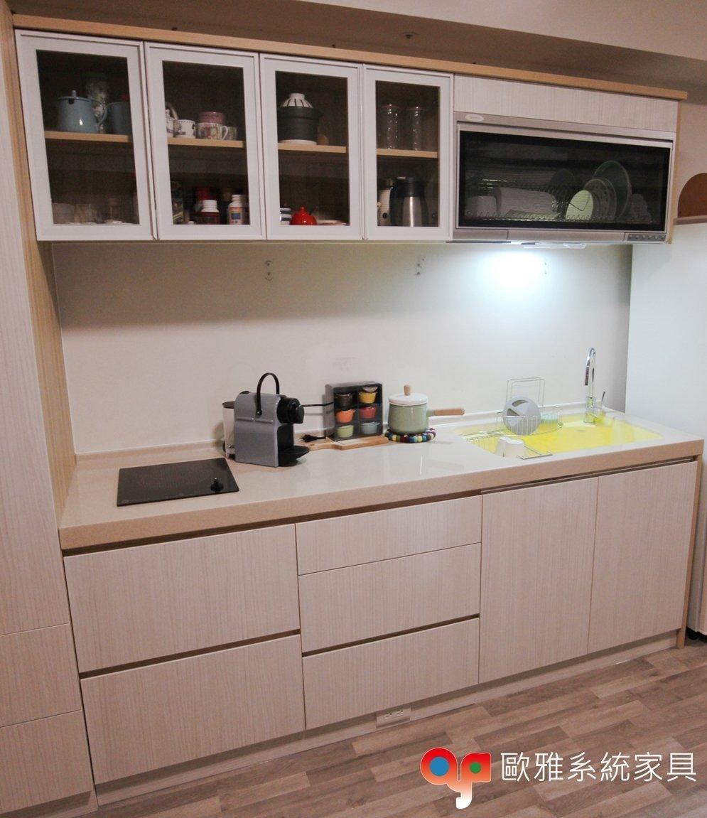 【歐雅系統家具】廚櫃/電器櫃/系統家具/系統書櫃/系統收納櫃/廚房設計