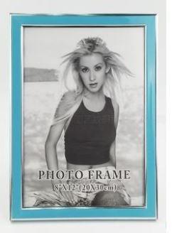 【i930 小舖】A4拼圖相框--藍色(含拼圖)、客製化來圖訂做A4拼圖框畫框情人節生日結婚廣告 贈品動漫A4相框