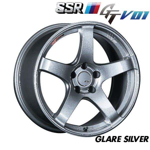 日本 SSR 鋁圈 GTV01 亮銀 17吋 18吋 19吋 100 114 四孔 五孔 4/100 5/114.3