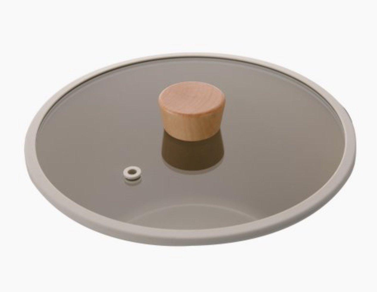 現貨 ! ! 韓國直進 大廠 Neoflam Fika原系列 鍋具 專用配件 鍋蓋 圓形木頭把 周邊商品