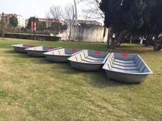 鋼體 塑膠船 組合 船 摺疊船 釣魚船