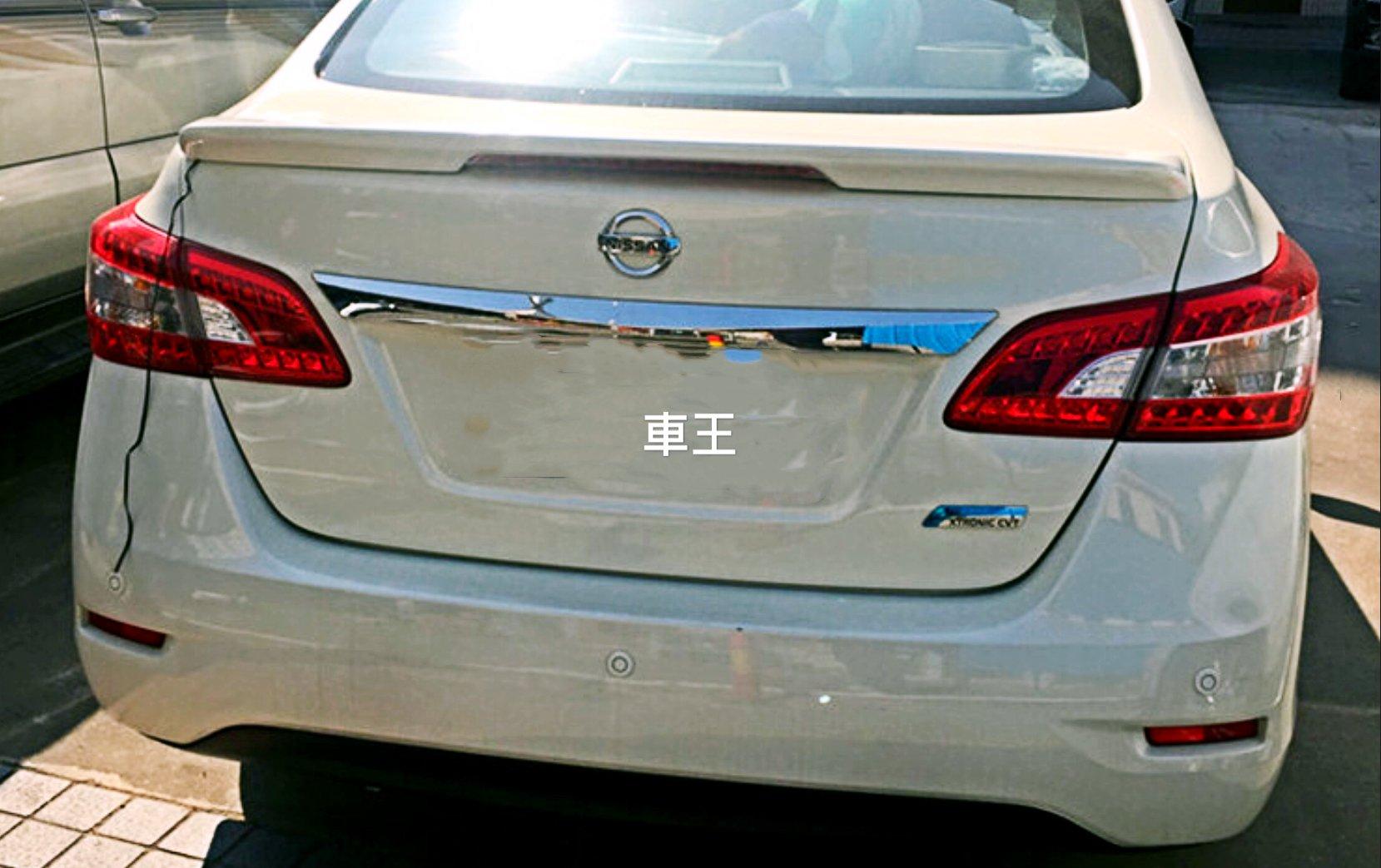 【車王汽車精品百貨】Nissan 日產 New super Sentra 定風翼 尾翼 壓尾翼 導流板 美規 LED燈