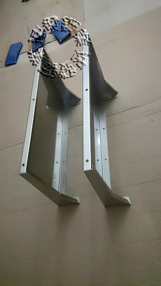 速發~窗戶第四代內折式不鏽鋼遮雨板~40*65(正白鐵304#)~簡單自行DIY晴雨棚 / 遮雨棚 冷氣 專用 窗型雨遮