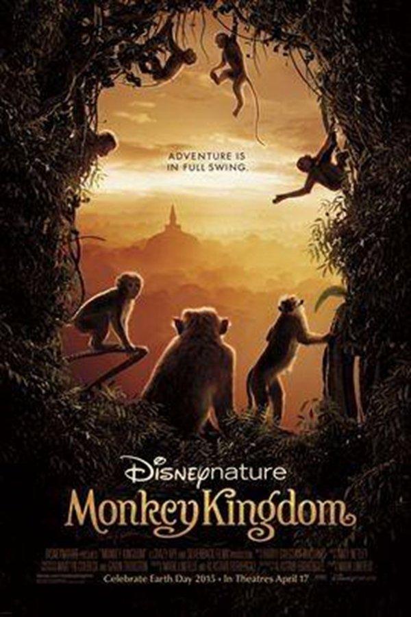 【藍光電影】猴子王國(2015) Monkey Kingdom 迪士尼最新動物題材紀錄片  76-020