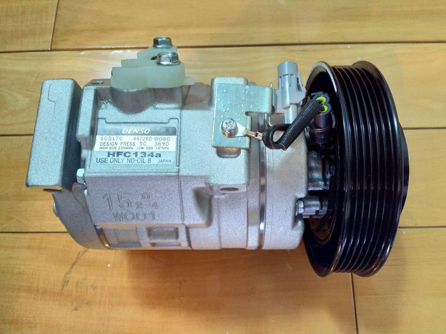 全新 Toyota豐田 Altis 1.8 04-07、08-10 原廠冷氣壓縮機 保固2年6萬公里