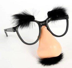 艾蜜莉舞蹈用品*表演道具*濃眉大鼻子眼鏡 搞笑眼鏡 100元