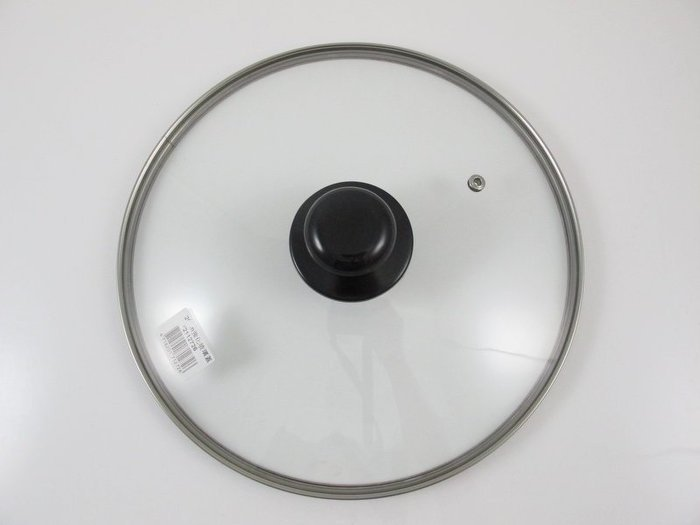 【綠心坊】22cm 汽孔強化玻璃鍋蓋