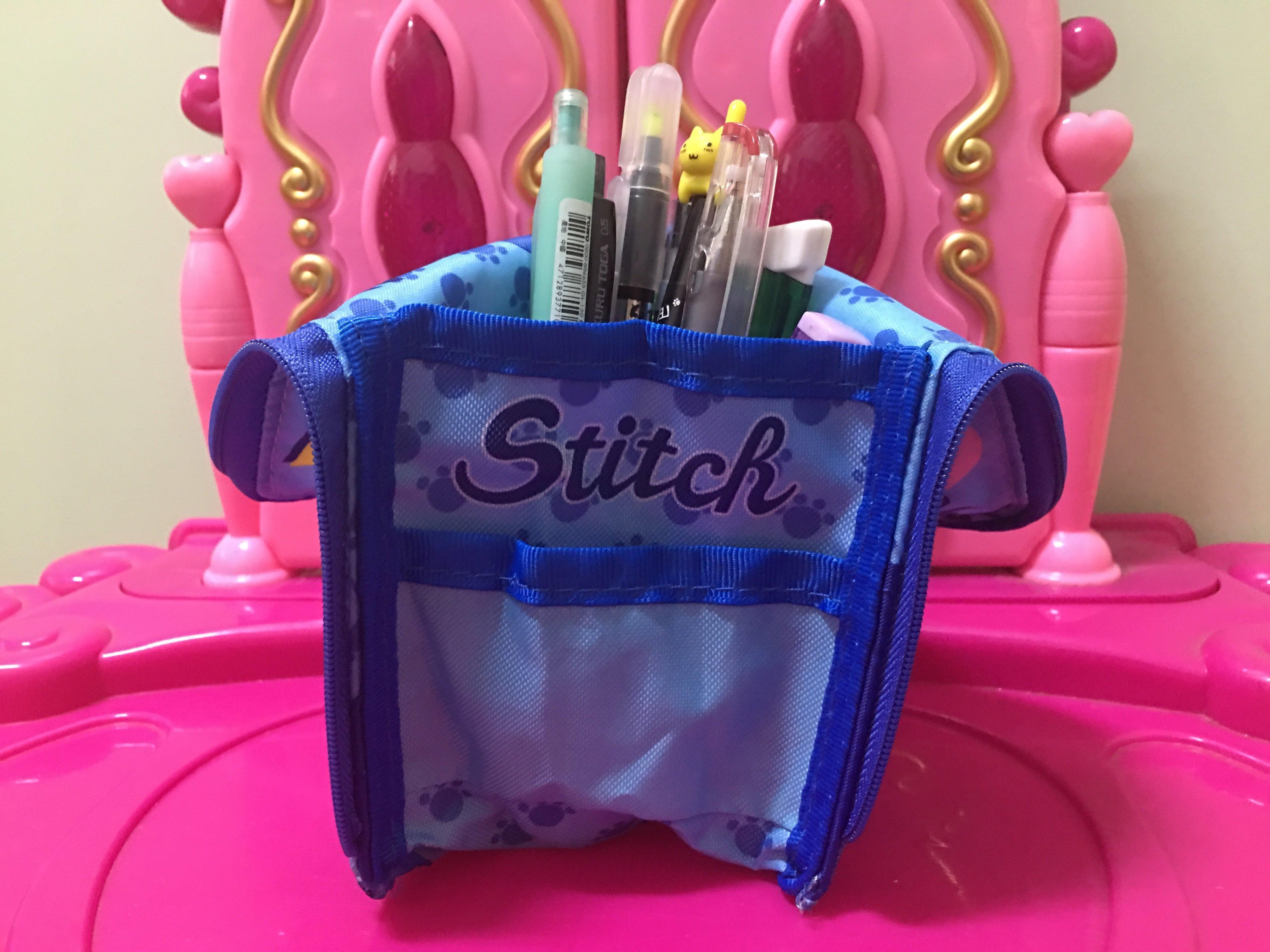 *1 2美人魚*迪士尼 冰雪奇緣 愛紗 米奇 文具 三角 立體 筆袋 筆筒  雙面 筆袋 站立 收納 刷具袋100元