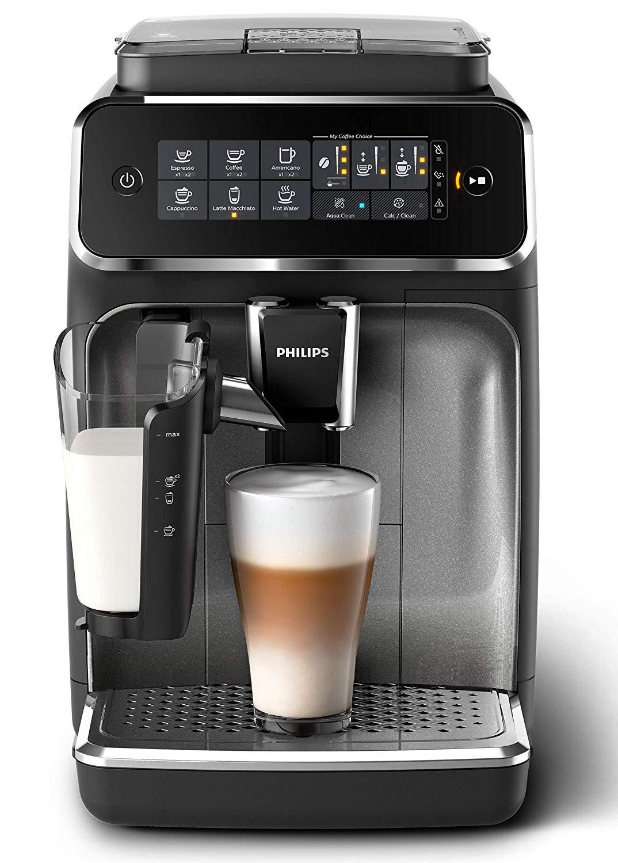 飛利浦 EP3246 / 70  咖啡機,咖啡(LatteGo牛奶系統)黑色