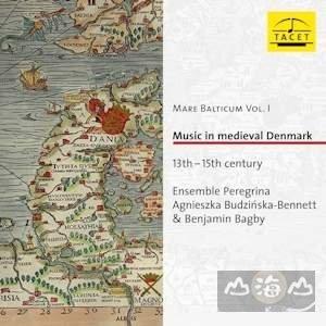 1 3至15中世紀丹麥音樂 Music In Medieval Denmark  班傑明貝格比---TACET243