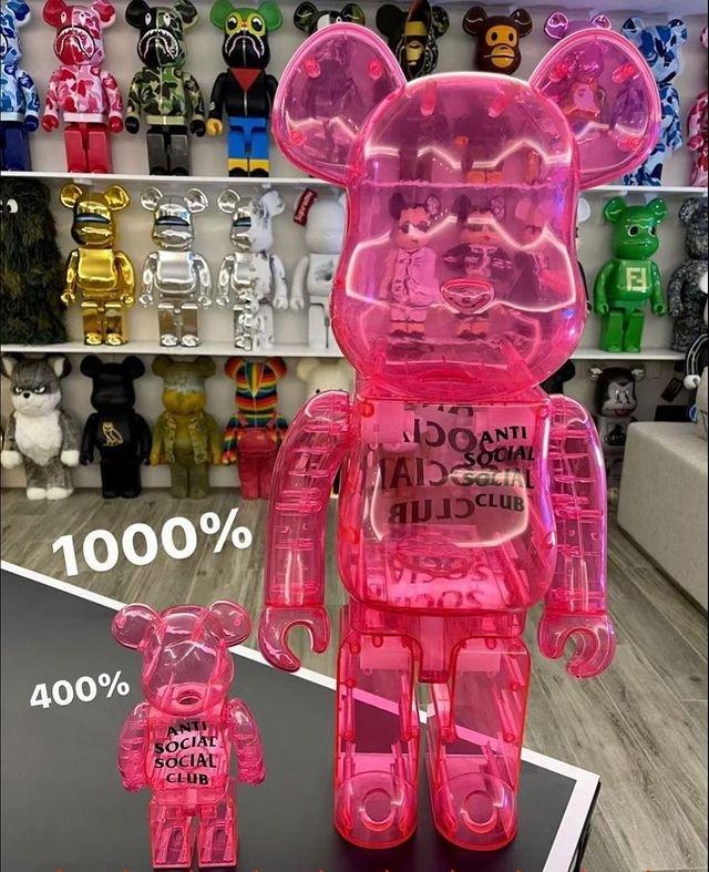 ☆LimeLight☆ BE@RBRICK ASSC 庫柏力克熊 1000% 400% 100%