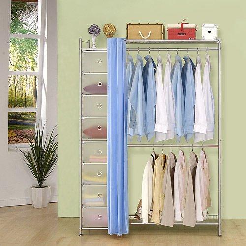 【中華批發網DIY家具】D-61-11-W2+PP型90公分衣櫥櫃-(前罩)不織布