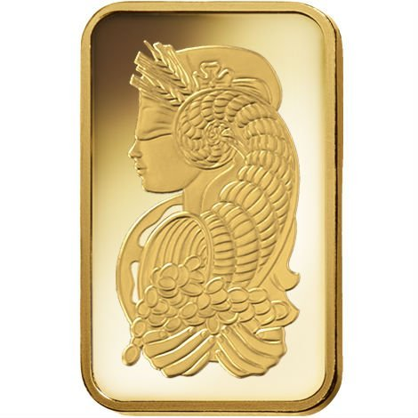 εїз 萬里金酷~ 瑞士 PAMP 財神女神 黃金塊 - 1公克裝 有完整封裝 有獨立編號