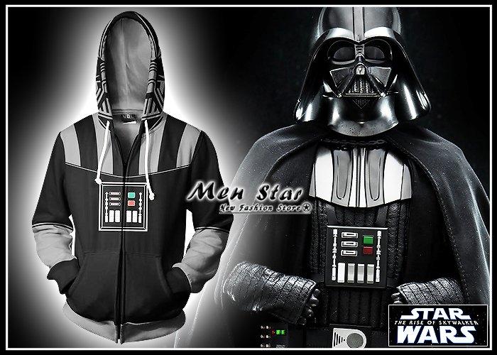 【Men Star】免 STAR WAYS 天行者的崛起 彈力 外套 連帽外套 輕外套 衝鋒衣 衝鋒外套 星際大戰