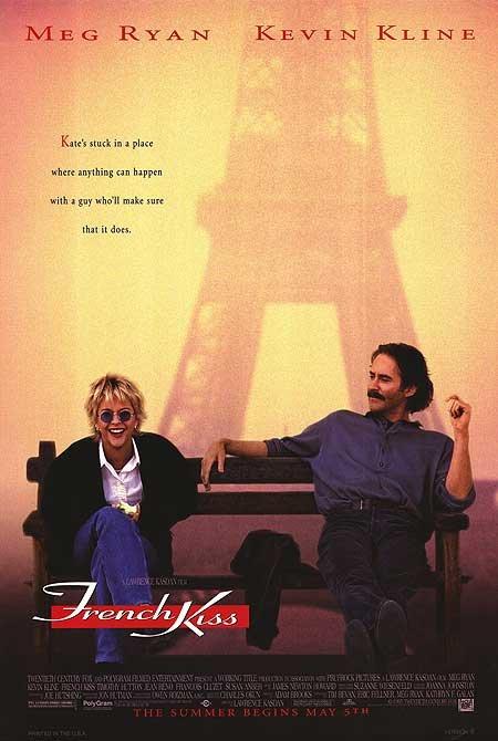 情定巴黎-French Kiss (1995)原版電影海報