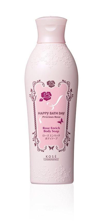 雨晴美粧 零售【KOSE高絲蔻絲媚影】快樂沐浴天.漾甜心 玫瑰潤髮乳(清新) 300ML