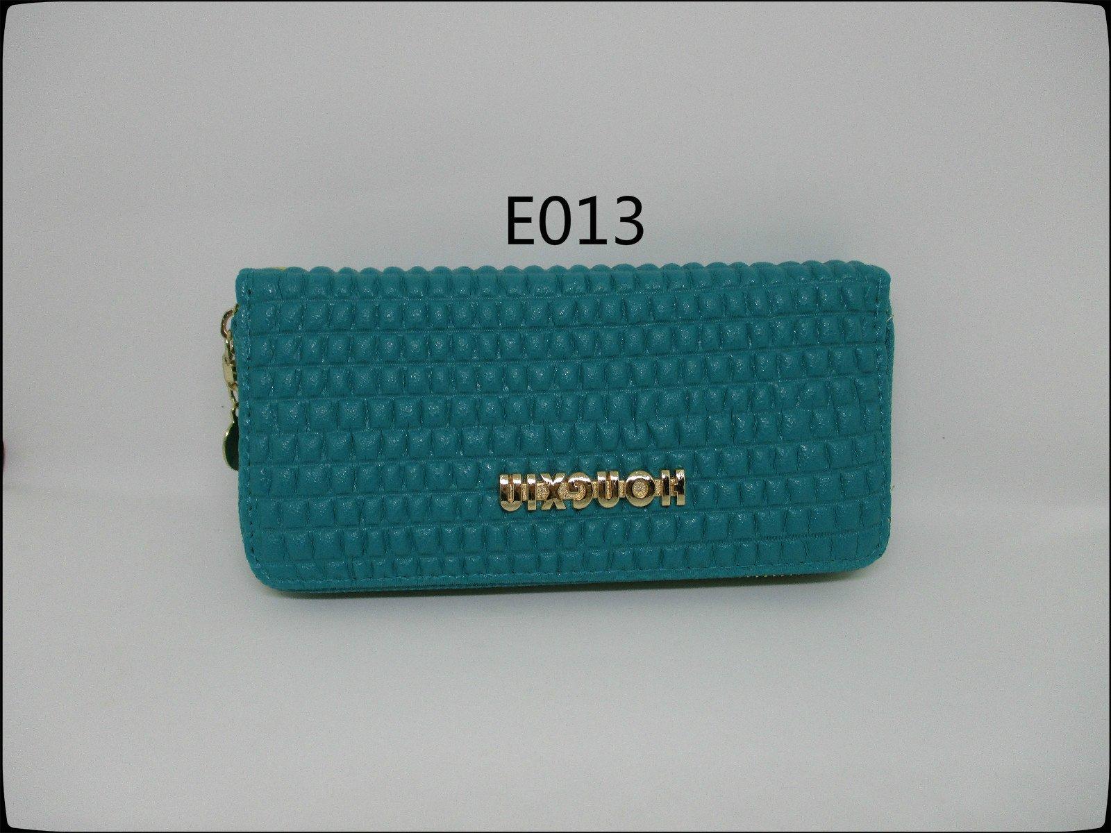 皮姐包弟『E013』藍色單拉長夾 手提包 手拿包