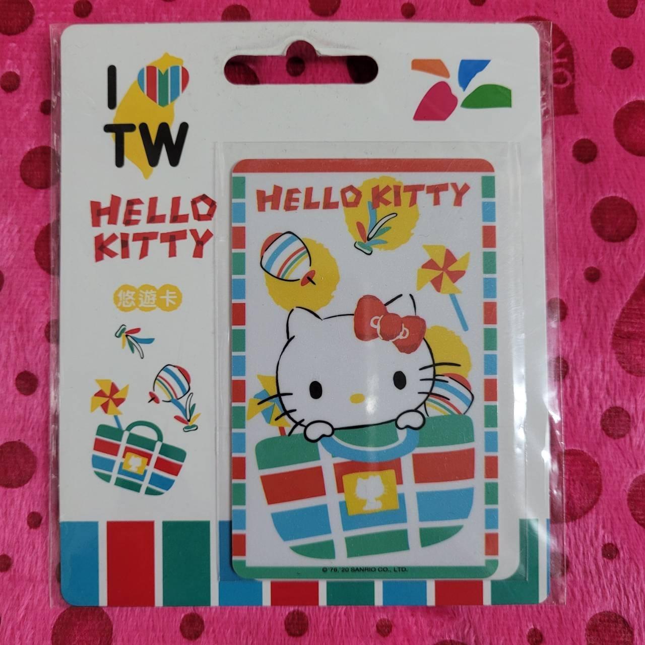 Hello Kitty茄芷袋悠遊卡-打包KT-230201