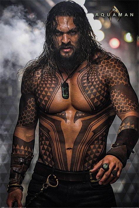 海報 英國 海報  PP34430( 海報 DC電影 正義聯盟 水行俠 (Aquaman))