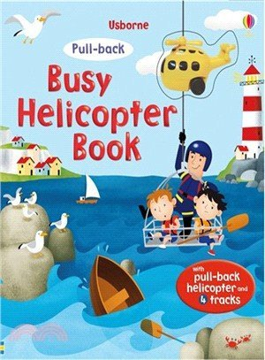 Usborne Pull-back busy helicopter book /好忙的直昇飛
