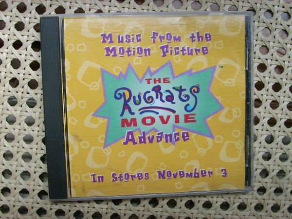 CD~The Rugrat Movie Advance--In Stories Number 3電影歌曲專輯...收錄Take Me There等..曲目如圖示