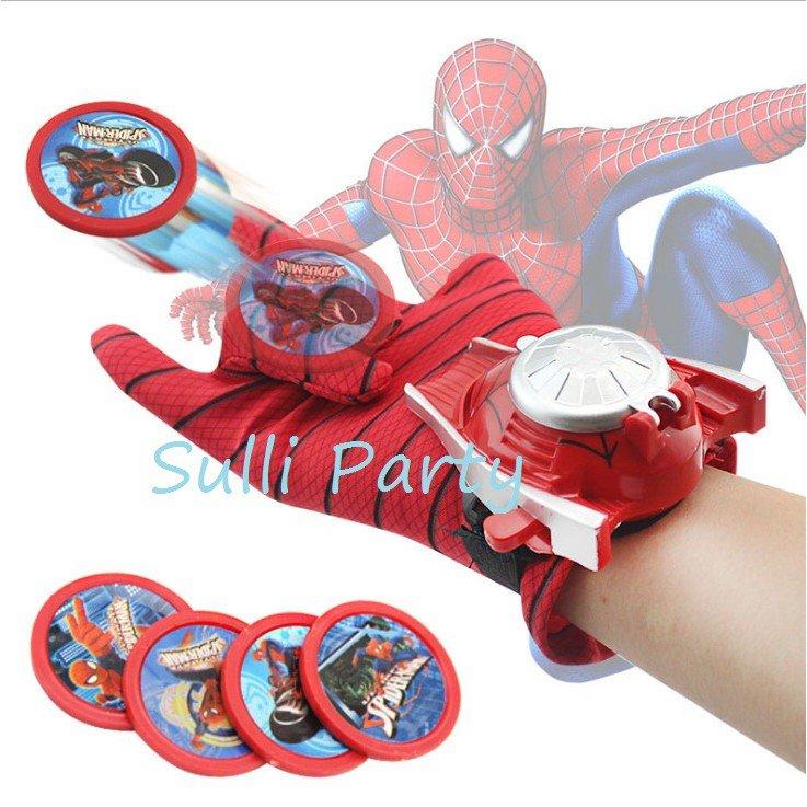 雪莉派對~漫威英雄發射手套 發光手套 蜘蛛人 美國隊長 蝙蝠俠 萬聖節 聖誕節 玩具  英雄聯盟 復仇者聯盟