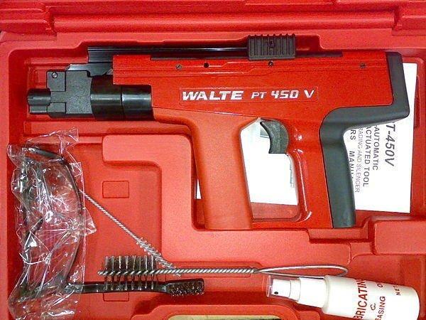 含稅/WALTE【工具先生】華特 火藥槍 450型~高品質/非HILTI 喜利得 喜得釘 機身MIT標示