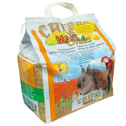 【🐱🐶培菓寵物48H出貨🐰🐹】CHIPSI》檸檬香玉米粒木屑砂4.6kg*1包天然玉米不易沾黏特價380元