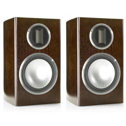 光華.瘋代購 [預購] 特價 英國 MONITOR AUDIO GOLD 100 4G 深核桃木色 書架喇叭 6.5吋低音 一對