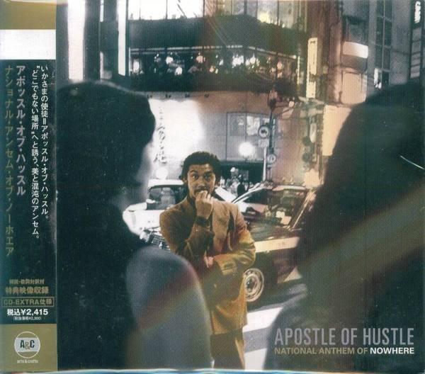 (甲上唱片) Apostle of Hustle - National Anthem of Nowhere - 日盤+VIDEO